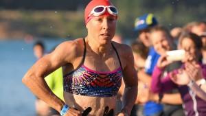 Anne Haug beeindruckt auf der Halbdistanz