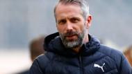 Viel Ärger und Unruhe um Wechsel: Gladbachs Trainer Marco Rose
