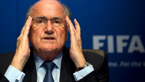 Blatter relativiert Aussagen