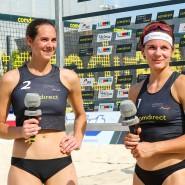 Mit neuer Partnerin am Beach wrfolgreich: Kira Walkenhorst (l.) spielt nun mit Anna Lena Grüne.