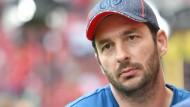 Trauriger Blick des Trainers: Der Mainzer Sandro Schwarz