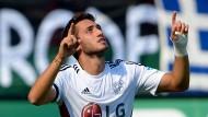 Ein Kunstschütze macht Leverkusen froh