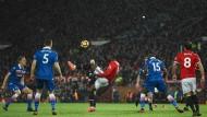 Sieg von Manchester United gegen Stoke City