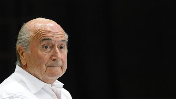 Blatter zum Schweizer des Jahres gekürt