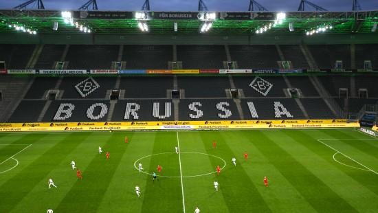 Erstes Geisterspiel der Bundesliga
