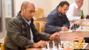Schach mit Matt und Mousa