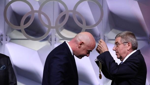 Fifa-Präsident Infantino trotz Gegenstimmen in IOC gewählt