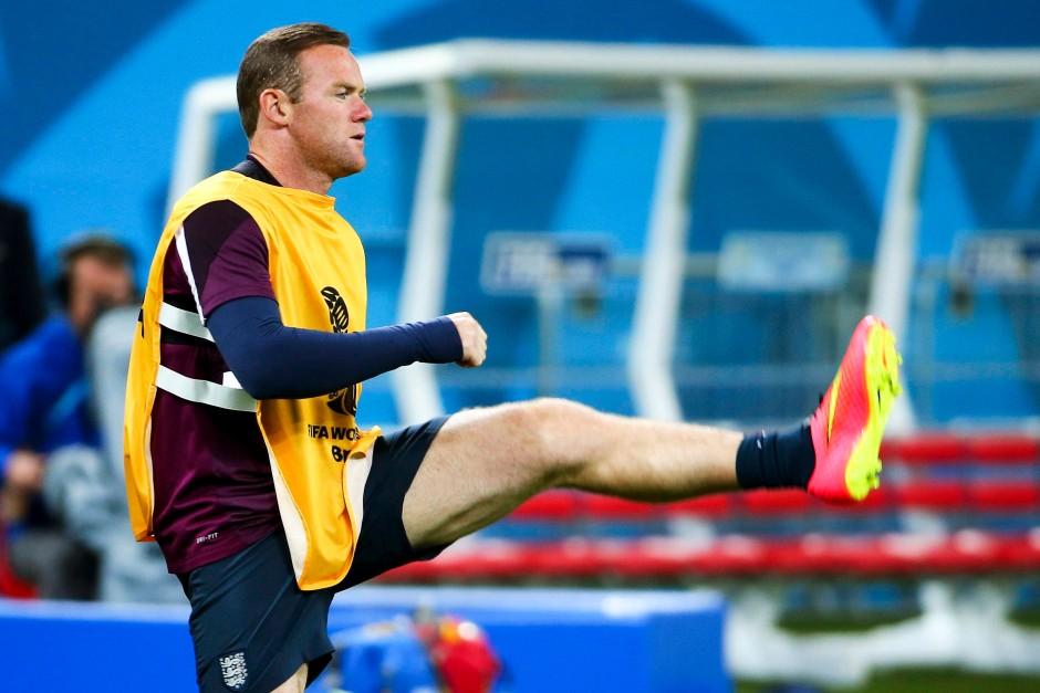 Rooney müht sich und reiht sich vergleichsweise brav ein