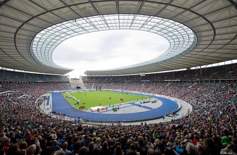 Olympiastadion: Austragungsstätte der Leichtathletik-EM 2018.