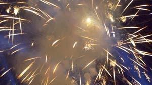 Amadeus und Feuerwerk