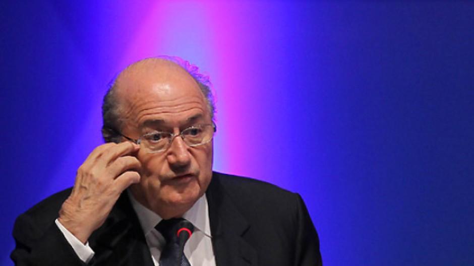 Zu Gast bei Freunden: Fifa-Familienkopf Blatter in Doha