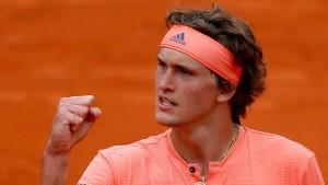 Zverev nach Tennis-Drama im Achtelfinale
