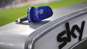 Champions League bis 2018 bei Sky