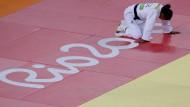 Rio war keine Reise wert: Judo-Kämpferin Myriam Roper am Boden.