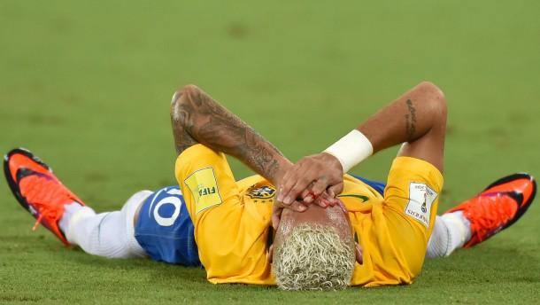 Brasilien jubelt, Neymar leidet