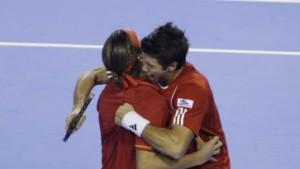 Spanien auch ohne Nadal vor drittem Triumph