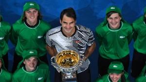 Nicht nur die Tenniswelt huldigt Federer und Nadal