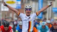 Etappensieg bei der Flandern-Rundfahrt der Junioren: Rick Zabel im April 2013