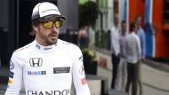 Gehört nicht mehr zu den Siegfahrern wie früher: Fernando Alonso