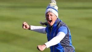 Eine Golf-Heldin zeigt pure Emotionen