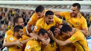 Australien steht Kopf nach Jedinaks Gala