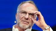 """Gibt in etwas mehr als einem Jahr den """"Staffelstab"""" beim FC Bayern ab: Vorstandsvorsitzender Karl-Heinz-Rummenigge"""