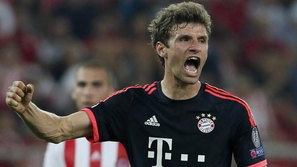Müller macht's auf seine Art