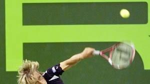 Navratilova wird gefeiert wie die Beatles