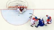 Enges Ding: Die Tschechen vermeiden den Viertelfinalgegner Russland durch einen Sieg gegen Frankreich