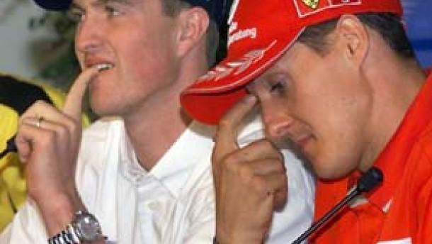 Michael und Ralf Schumacher: Aussprache am Telefon