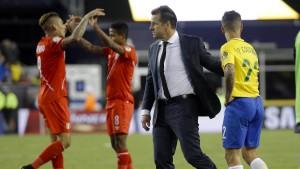 Dunga fliegt nach Copa-Aus