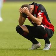 Nicht nur David Abraham war nach dem Saisonstart der Eintracht unzufrieden.