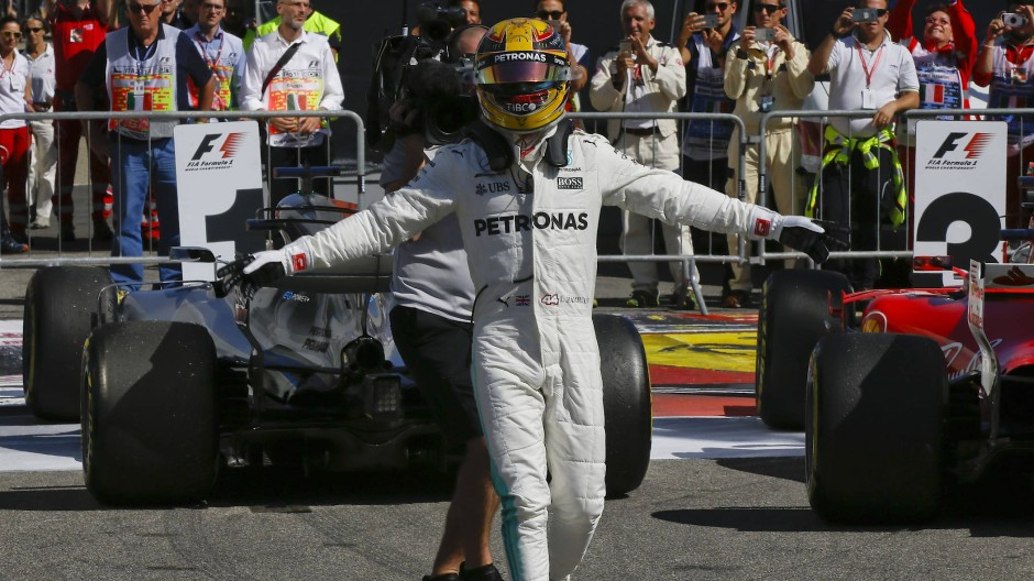 Der Triumphator: Lewis Hamilton