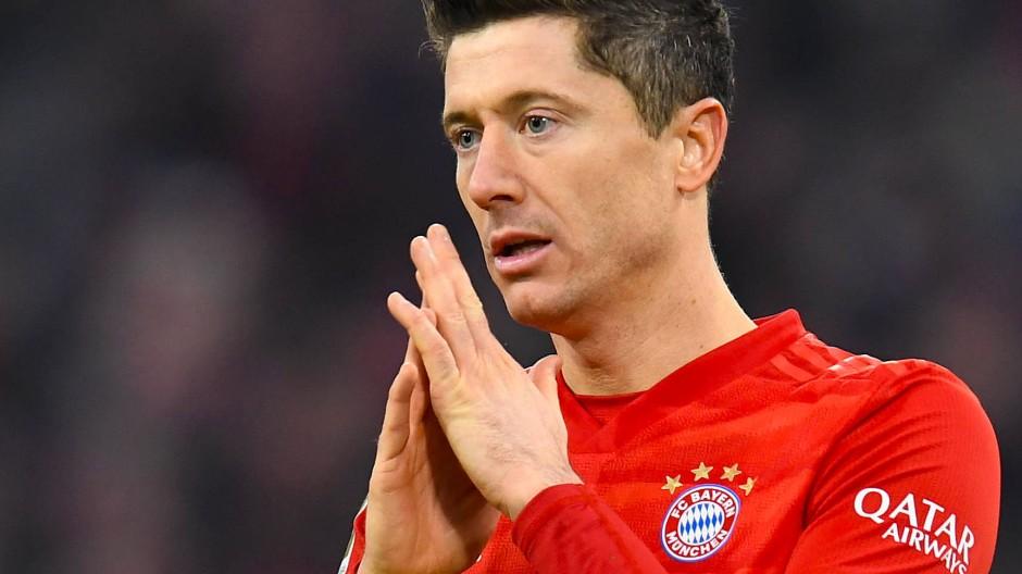 Diesmal traf Robert Lewandowski nicht für die Bayern.
