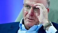"""Global Nations League? """"Die Fußball-Welt braucht nicht noch weitere Wettbewerbe"""", sagt Karl-Heinz Rummenigge."""