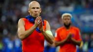 Nationaltrainer Koeman schließt Robben-Comeback aus