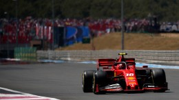Ferrari sieht alt aus