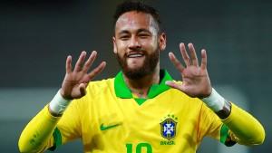 Jetzt jagt Neymar sogar den Rekord der größten Legende