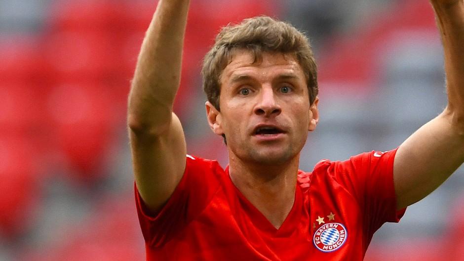 Die nächsten Titel warten schon: Thomas Müller möchte mehr gewinnen mit dem FC Bayern.