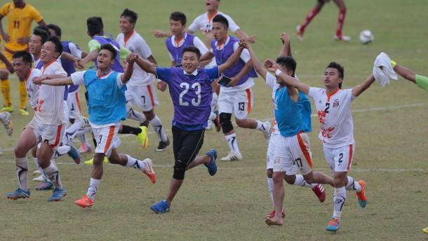 Aufstand der frechen Fußballzwerge