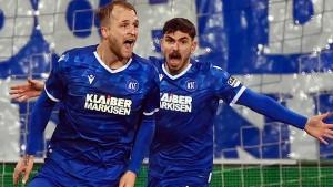 Wilder Sieg des KSC – Debakel für Heidenheim