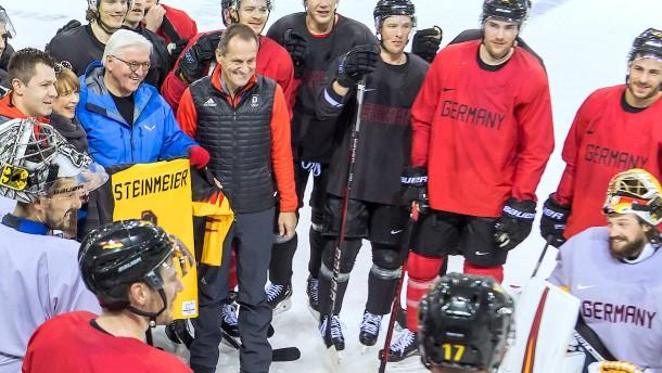 Steinmeier on Ice