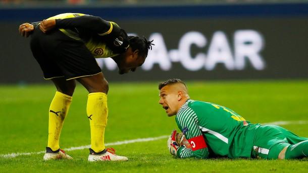 Borussia scheitert torlos