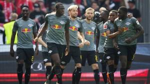 Leipzig mit Gala in Richtung Europa