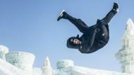 Der Eiskunstläufer im Wunderland