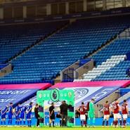 Es bleibt trostlos: Fußball ohne Fans in England