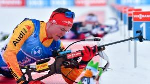 Deutsche Biathlon-Staffel erlebt Debakel beim Schießen