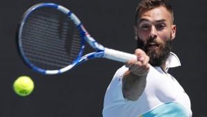 Der erste Corona-Fall in der Tennis-Blase
