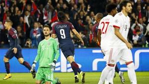 Die Bayern sehen Neymar und Co. nur noch mit Fernglas