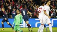 Chancenlos: Bayern München mit Torwart Sven Ullreich muss sich PSG beugen